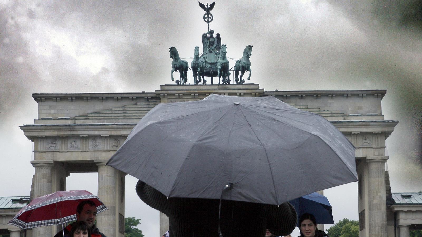Regenprognose Nächsten Drei Bis Sieben Tage Für Europa