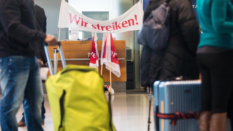 Streik am Donnerstag Airlines streichen 16 Flüge von Köln/Bonn nach Berlin