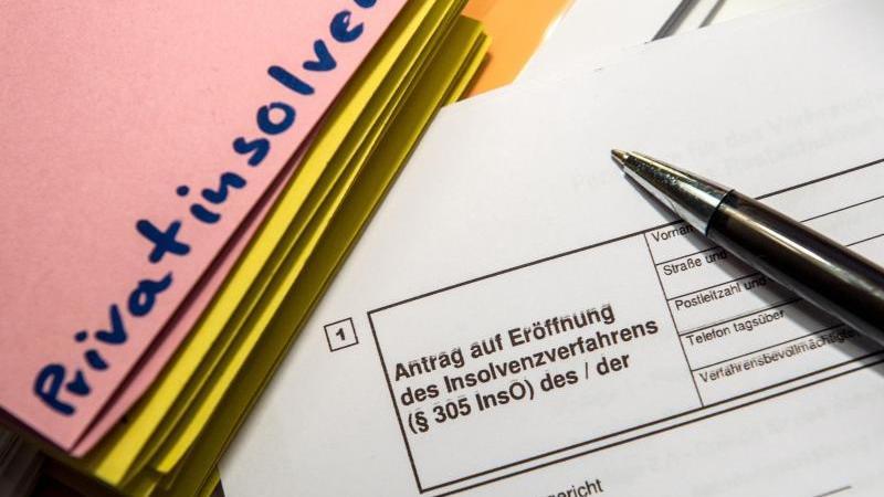 Zahl der Privatinsolvenzen sinkt in Sachsen-Anhalt leicht