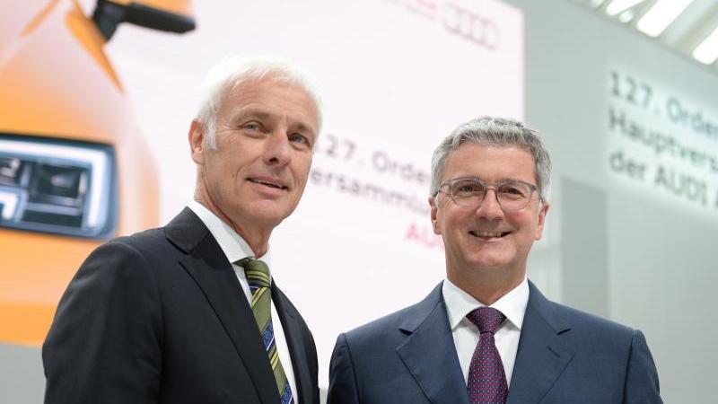 Auch Büro von VW-Chef Müller durchsucht