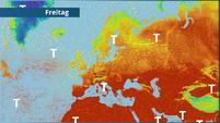 Neuer Polarluftvorstoß zur Wochenmitte