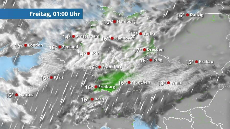 Unausweichlich: Der Regen kommt
