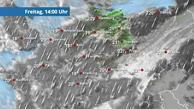 Am Montag Schnee vom Saarland bis Berlin