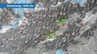 Nasser Schnee von Emden bis Oberstdorf