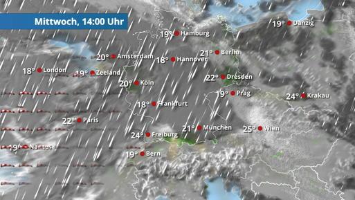 Sonne pur für ganz Deutschland