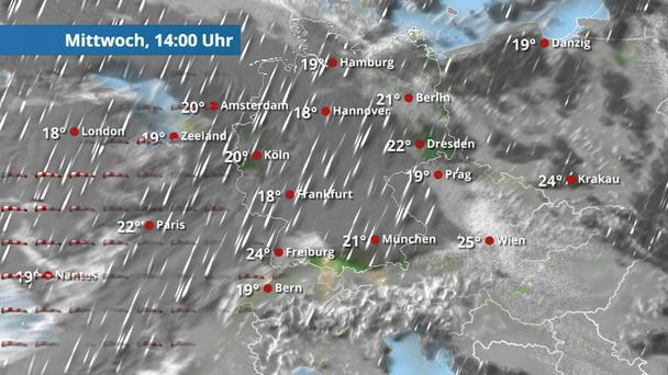Regen- & Wolkenfilm Deutschland für 2 Tage