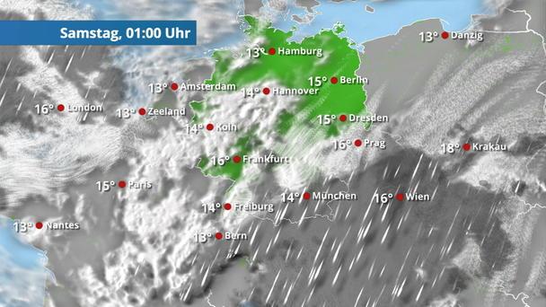 Regen- & Wolkenfilm Deutschland