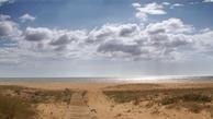 Im Atlantik schwimmen an der Costa de la Luz