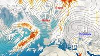 Intensive Gewitter in der Alpenregion