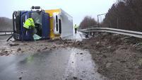 Erste Unfälle durch den Sturm