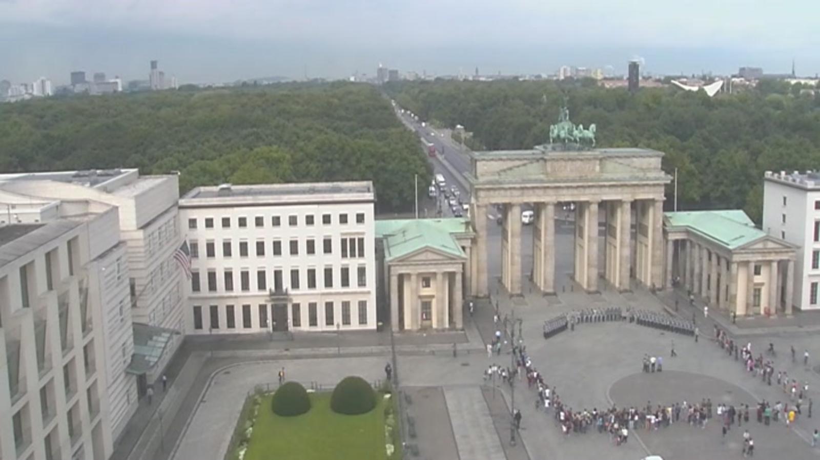 Webcam Berlin Brandenburger Tor