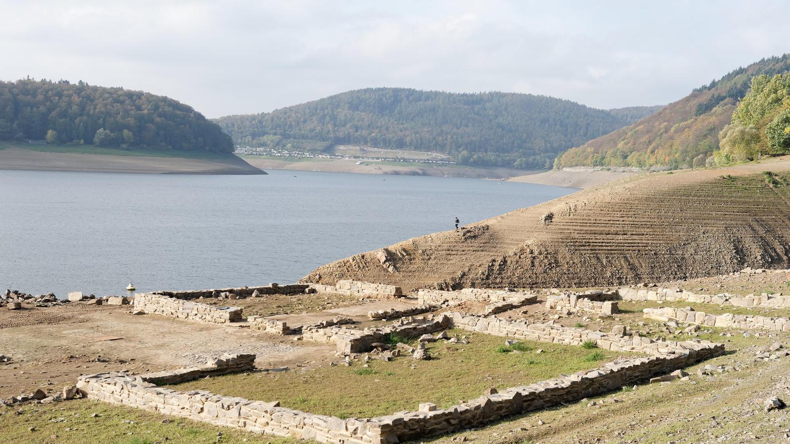 Edersee-Atlantis wieder aufgetaucht: Asel, Berich und ...